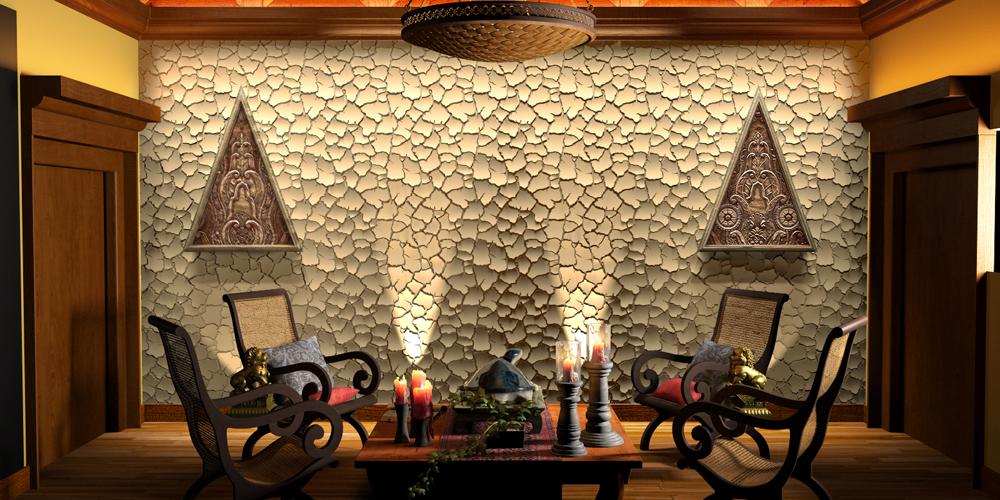 ARTPOLE - 3D gypsum decorative panels